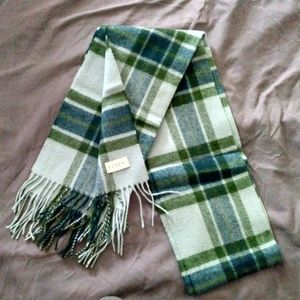 J. Crew Wool Plaid Scarf